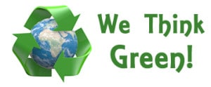 We-think-green-emblem-dreamstime_xs_22515383