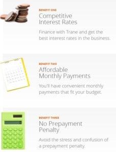 3 BENEFITS OF FINANCING