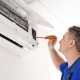 Repairing air conditioner